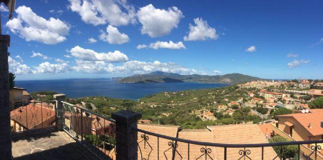 Villa in bifamiliare con vista panoramica