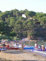 Spiaggia Straccoligno Cala Grande  Capoliveri Isola d'Elba